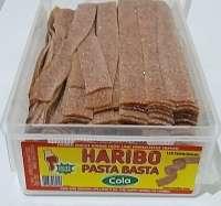 Haribo Pasta Basta, Cola, Fruchtgummi sauer, 150 Stück, Ohne Gelatine