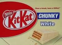 Kitkat Chunky White, Schoggi-Riegel, weisse Schokolade, 24 Stück