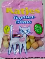 Katjes Yoghurt Gums, Soft-Fruchtgummi, ohne Gelatine, 5 Beutel, 1kg