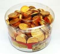 Schweizer Schoggi Münzen, Schokoladenmünzen, Dose, 1kg