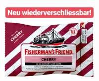 Fishermans Friend Cherry, Neu wiederverschliessbar, 24 Beutel