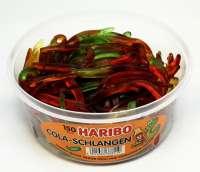 Haribo, Cola Schlangen, New Price! Fruchtgummi, in der Frischebox, 150 Stück