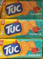 Tuc Paprika Cracker, Knabberspass, 6 Packungen