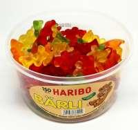 Haribo Bärli,  extra gross, Fruchtgummi, 150 Stück in Frischebox