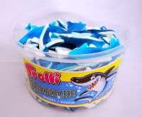 Trolli Haifische, Fruchtgummi, 150 Stück in der Frischebox