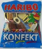 Haribo Lakritz Konfekt , 5 Beutel a 200g