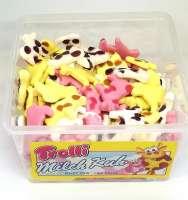 Trolli Milch Kuh, Schaumzucker, Fruchtgummi, 150 Stück in der Frischebox
