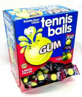 Fini Tennis Balls, Fini Tennisball Kaugummi, 200 Stück im Sparpack