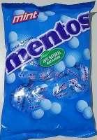 Mentos Mint, 1er, einzeln abgepackte Kaubonbons, Neu im Beutel, ca. 160 Stück