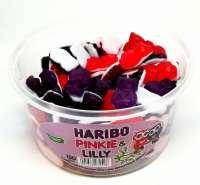 Haribo Pinkie & Lilly, Aktion! Fruchtgummi, in der Frischebox, 1.2kg