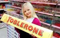 Toblerone 4.5kg, Aktion statt 119.95 jetzt 99.99!!! XXL Toblerone, Geschenkidee!, 78cm lang