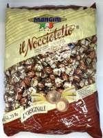 Noccioletto Mangini Zältli, Bonbon, Haselnuss mit Milchschokolade, 400 Stück