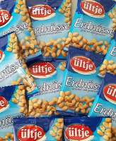 Erdnüsse im Minibeutel, Nüssli, Ültje Erdnüsse, 125 Minibeutel a 20g