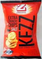 Zweifel Kezz Chips, Extra Crunchy salt Chips,5 Pack a 110g