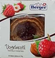 Vogelnestli von Berger, Snack & Gebäck für zwischendurch, 10 Stück