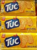 Tuc Classic Original Kracker, Knabberspass, 6 Packungen