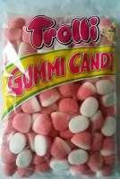 Trolli Kiss Schaumerdbeeren, Schaumzucker, 1kg im Beutel