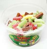 Haribo Brixx, saures weiches Fruchtgummi, 150 Stück in der Frischebox