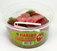 Haribo saure riesen Erdbeeren, 75 Stück in der Frischebox