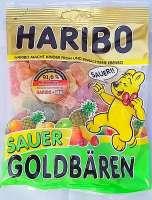 Haribo Goldbären sauer, saure Gummibärli, 1 Beutel a 200g