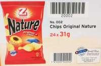 Zweifel Nature Chips, Minibeutel, 20 Pack a 30g